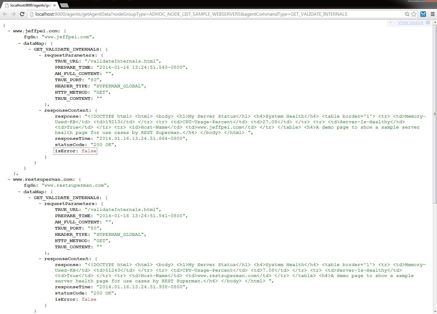 REST Commander - Parallel Async HTTP Client as a Service, Speaks